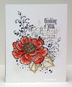 Timeless Textures, Gorgeous Grunge, Stamping Up, hostess retired, Bloom