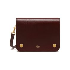 Clifton in Oxblood Natural Grain Leather | Women | Mulberry