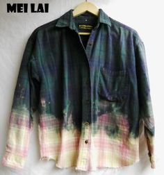 Bleached out Flannel