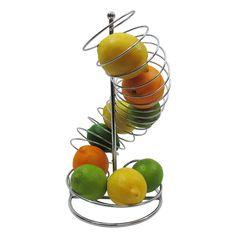 Spiral Fruit Basket Stand