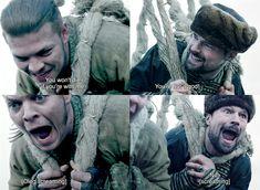 Ivar the boneless & Prince Oleg. Vikings Season 6, Vikings Tv Show, Danila Kozlovsky, Ivar The Boneless, What About Tomorrow, Ragnar Lothbrok, Tv Shows, Prince, Fandom