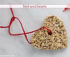 Bird seed hearts - a fun and easy candy alternative that's perfect for Valentine's Day parties and classroom celebration! Holiday Crafts For Kids, Holidays With Kids, Valentines Day Party, Crafty Craft, Easy Peasy, Cool Kids, Easy Crafts, Favors, Seeds