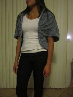 California Dreaming: Crochet Shrug