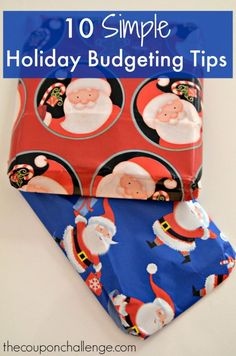 The holidays can be a stressful time. Purchasing food for holiday dinners, buying new decorations and finding the perfect gifts can wreak havoc on your budget.  Use these simple holiday budgeting tips to prepare for the upcoming holidays and add more holiday cheer for less money and stress.  #aceyoursavings #upromise