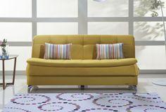 Καναπές κρεβάτι Luisa σε πολλά απίθανα χρώματα