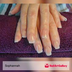 Natural Gel Nail Enhancements by Sophannah via Nail Art Gallery #nailartgallery #nailart #nails #gel #geloverlay #gelnails #naturallook #extensions #naturaltips
