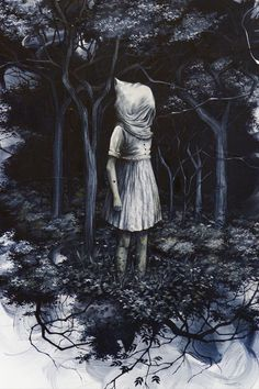 New, Haunting Storybook-Like Paintings by Candice Tripp | Hi-Fructose Magazine