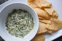 Easy Slow Cooker Spinach & Artichoke Dip