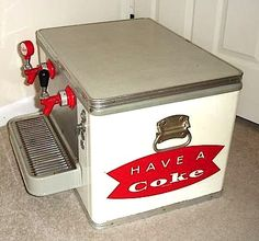 Coca-Cola Cooler Dispenser