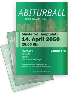 Abiturball Flyer Vorlage im Retro-Stil von onlineprintXXL. #flyer #flyerdesign #flyerlayout #design #layout #retroflyer #retro #abiturblall