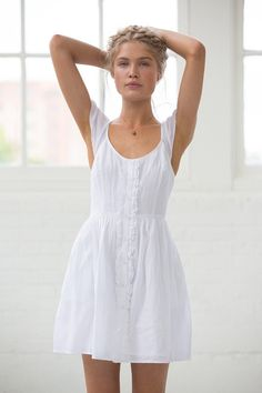 Band Of Gypsies Flutter-Sleeve Button-Down Dress urban outfitters $59