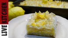 Η Λεμονόπιτα που θα λατρέψετε!!! - The best Lemon pie - Live Kitchen - YouTube Greek Desserts, Greek Recipes, Greece Food, Bread Machine Recipes, Happy Foods, Kitchen Living, The Best, Food And Drink, Pie
