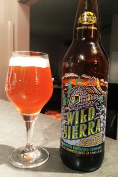 15-Oct-2015: Wild Sierra Mountain Farmhouse Ale by Mammoth Brewing Company. A fine saison. Hints of pine aroma. Decent bitterness and some funk flavor. A little sweet and spicy. #ottbeerdiary
