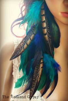 Soul Sister Gypsy Feathers Earrings. For more follow www.pinterest.com/ninayay and stay positively #pinspired #pinspire @ninayay