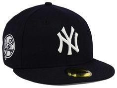 New York Yankees New Era MLB C-Dub Patch 59FIFTY Cap 11e193eb20bd