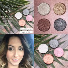 New pressed mineral palette from Keep Me Safe Organics. Beautiful toxic free makeup. Check it out at kmsorganicmama.com.  #keepmesafeorganics #kmsorganicmama #toxicfree #certifiedtoxicfree #organicbeauty