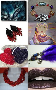 The Bold and The Beautiful!!!!! by Dawnie on Etsy--Pinned with TreasuryPin.com