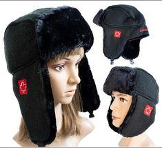 MapleLeaf Canada Winter Trapper Aviator Trooper Earflap Warm Ski Hat Fur Bomber Fur Bomber, Ski Hats, Winter Accessories, Beanie Hats, Skiing, Aviation, Winter Hats, Canada, Unisex