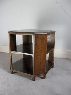 Oak Book Table C1930 By Heals - Antiques Atlas