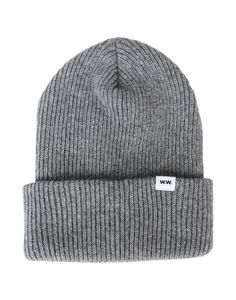 WOOD WOOD HATS. #woodwood Wood Wood, World Of Fashion, Luxury Branding, Knitted Hats, Wool, Knitting, Grey, Collection, Style