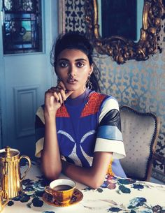 Neelam Gill for vogue india