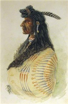 Great Plains Indian by Karl Bodmer kp Native American Photos, Native American Design, Native American Tribes, Native Indian, Indian Art, Central America, North America, Vision Art, Black Indians