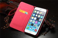 Modische Lackledertasche mit Schleife für iPhone 5/5S/6/6 Plus - spitzekarte.com