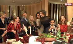 Naty Abascal, Eugenia Silva, Julio Benítez, Amelia Bono... Una Navidad con mucho estilo