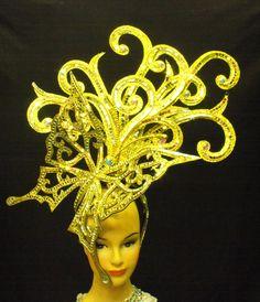 EVITA H006 Butterfly Cabaret Showgirl Headdress