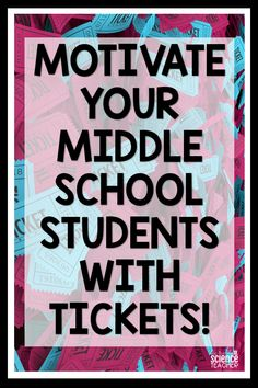 Do you struggle to motivate your middle school students? Can't get them to do homework? Do they complain about doing work? Are they performing poorly . Middle School Rewards, Middle School Management, Middle School Behavior, Middle School Reading, Middle School English, Middle School Classroom, Middle School Science, High School Students, Education Middle School