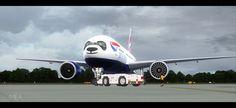 """PMDG Boeing T7 Bild aus dem Forum des FS-Kurier, Urheber """"MEA""""  Link http://forum.fs-kurier.de/index.php/Thread/675-MiddleEastAirlines-Bilder/?postID=77898#post77898"""