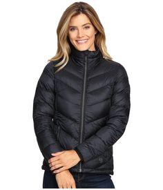 Mountain Hardwear Ratio Down Jacket In Black Mountain Hardwear, Duck Down, Winter Sports, Lightweight Jacket, Quilting Designs, Hemline, Winter Jackets, Long Sleeve, Sleeves