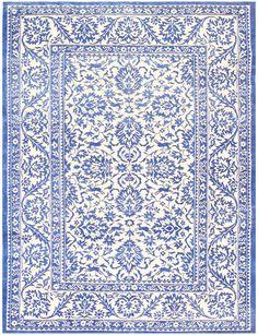 Vintage Cotton Indian Agra Rug 48375 Main Image - By Nazmiyal