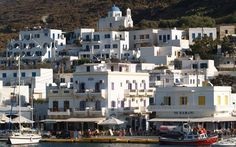 Authentic cycladic villages