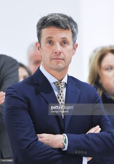 Crown Prince Frederik of Denmark attends official visit to Canada - Day 3 at The Hudson's Bay on September 2014 in Toronto, Canada. Canada Day, Toronto Canada, Prince Frederik Of Denmark, Danish Royalty, Handsome Prince, Danish Royal Family, Hudson Bay, Queen Mother, Princesa Diana