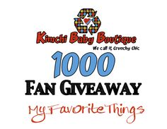 1000fangiveawayhttp://kimchibaby.wordpress.com/2013/07/11/1000-fan-giveaway/