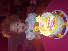 Manees 2nd Birthday Home Bakery cake!