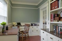 Bungalow Office - traditional - home office - portland - Craftsman Design and Renovation