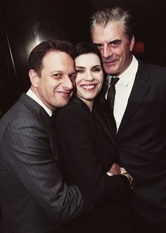 """Josh Charles, Julianna Margulies and Chris Noth ~ :The Good Wife"""""""