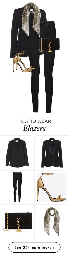 """""""Untitled #10973"""" by alexsrogers on Polyvore featuring Yves Saint Laurent, women's clothing, women, female, woman, misses and juniors"""