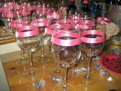 Wine Glass Decorations