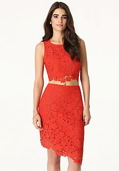 Lace 2-Piece Dress