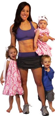 Lose weight & flatten your stomach | Lindsay Brin fitness expert - Moms Into Fitness