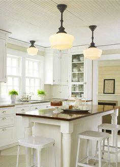 kitchen lighting idea!