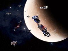 Super Crossbows in flight by ILJackson