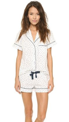 I have now become obsessed with pajamas -- Three J NYC Eloise Cotton PJ Set