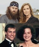 Duck Dynasty. Better Before the Beard, and with and without the perm for Korie ;)