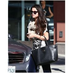 Selena Gomez Visits The Doctor ❤ liked on Polyvore