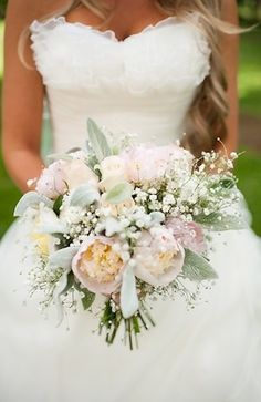 Pastels & baby's breath