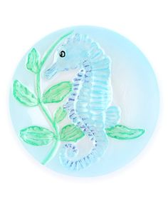 Take a look at this Seahorse Round Plate on zulily today!